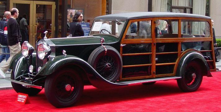 En ganska elegant shooting brakekaross från Rippon på Rolls Royce 20/25