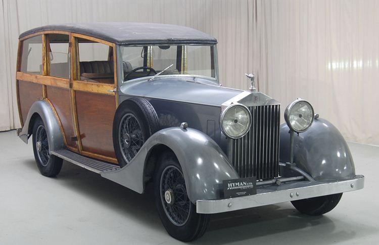 Vincents of Yeovil hette firman som byggde den här 1933, också på en 20/25 med chassinummer GSY80.