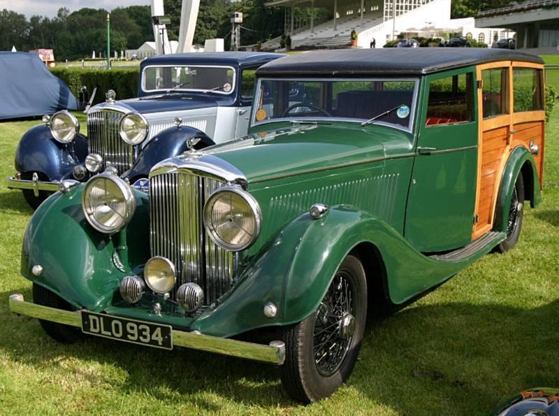 En Bentleykombi från samma företag, 1937.