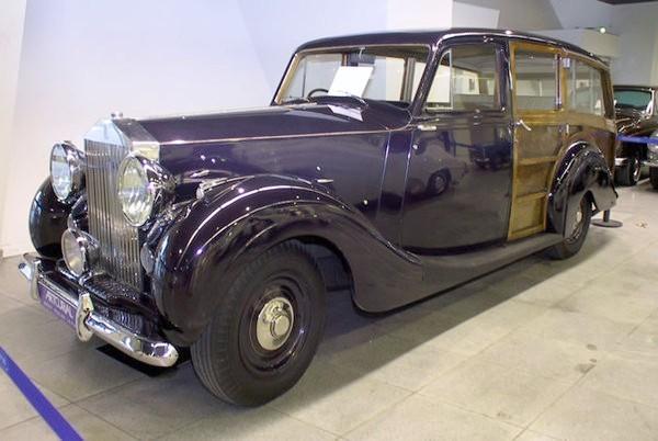 Park Ward var helägt av Rolls Royce sedan 1939, vid sidan av ordinarie karosser så stod dom också för en del specialjobb för kunder med annorlunda önskemål. Som denna Silver Wraith byggd 1948.