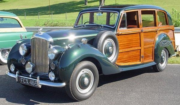 Bentley mk VI från Rippon 1950
