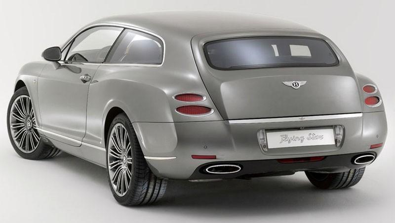 Och 2010 sågs ännu en shooting brake studie baserad på Bentleys Continental, Flying Spur wagon kallas den och byggdes av Touring i Milano.