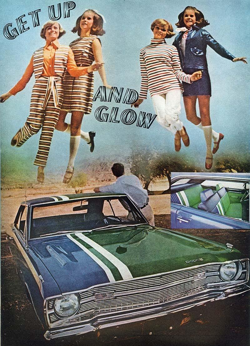 Bildspel: Dodge på modet 1969