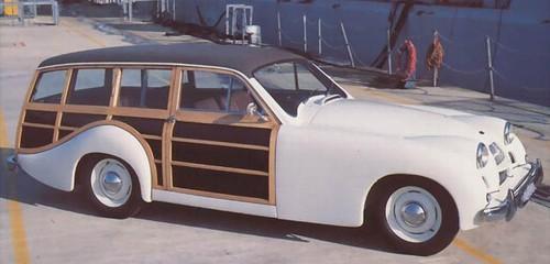 Allard byggde själva sin exklusiva P2 Safari, som dock bara gjordes i tio exemplar 1952-54