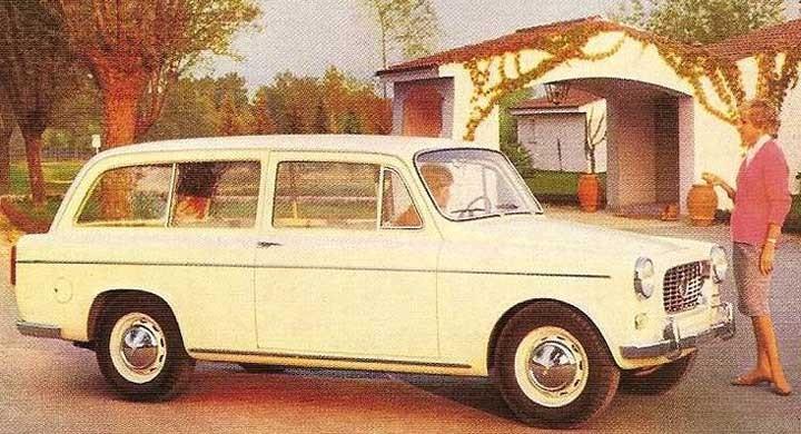 Viotti byggde en serie av dessa eleganta Lanica Appia stationsvagnar 1959