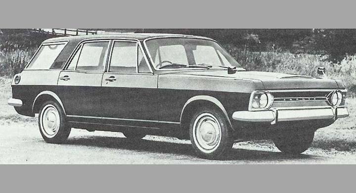 Ford Zephyr estate 1967, fortfarande var storkombi från Ford beställningsvara. Konverteringen var dyr och produktionen blygsam.