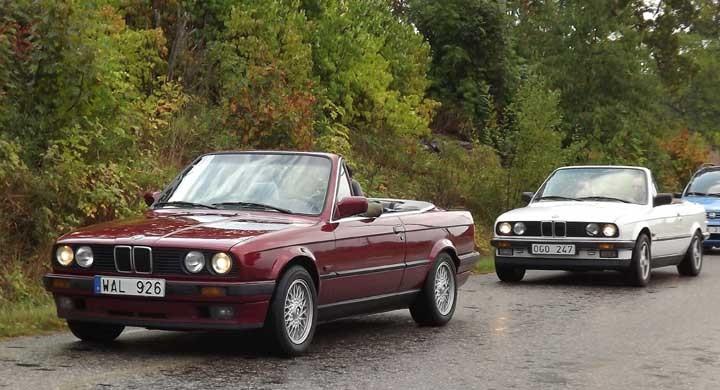 BMW cab var trenden i år, en hel del verkar importerats på senare tid för nya såldes inte så många i Sverige.