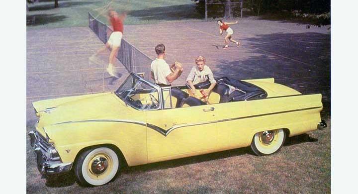 Fairlane Sunliner 1955