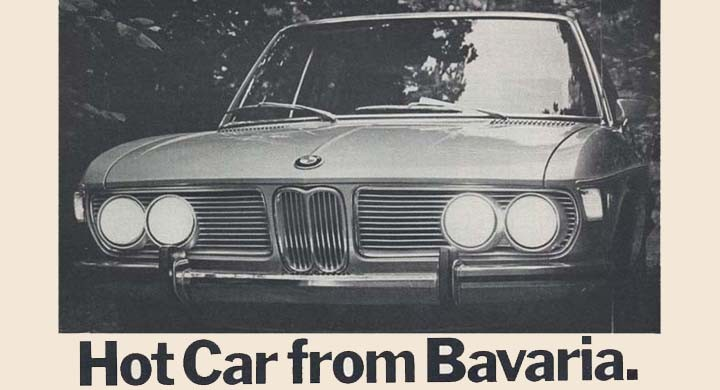 Hot car from Bavaria