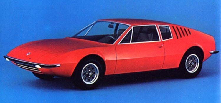 Snarlik från samma koncern, en sportbil från Autobianchi som aldrig kom til skott.