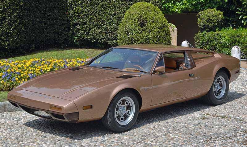 Och en variant av De Tomaso Pantera kallad 7X från Ghia, och var tänkt som ett budgetalternativ till Panteran 1973.