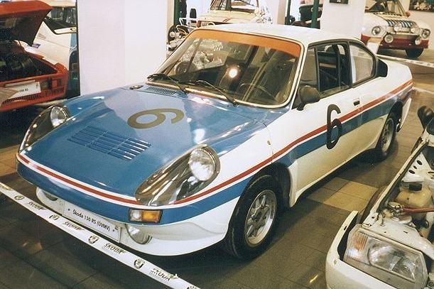 Skoda 130RS prototyp från UVMV 1978, också en rallysatsning som uteblev.