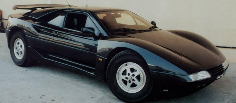 Aixam, kända för små nätta mopedbilar försökte sig på en fullvuxen sportbilsprototyp 1991, med det något underliga namnet Belle di Savoy.