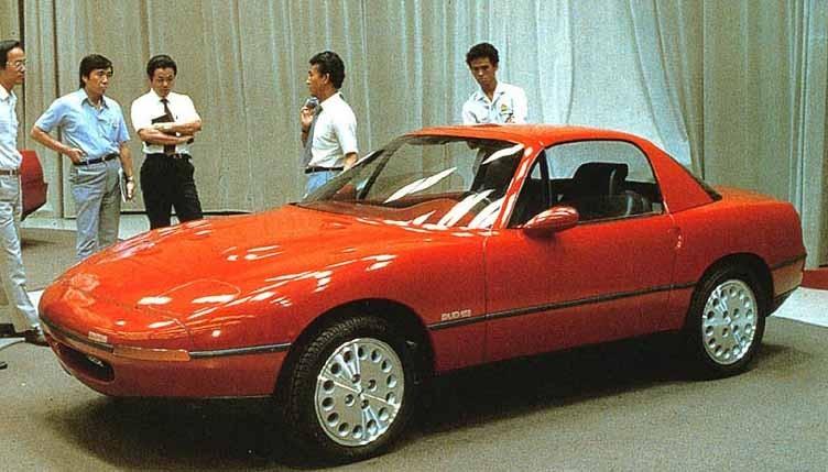 Likaså blev det aldrig någonting av en Mazda Miata coupé.