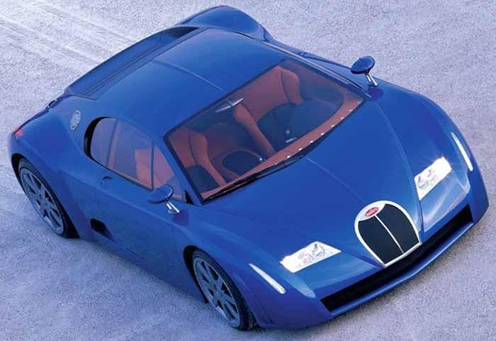 Bugatti 18-3 Chiron var en bjässesportbil, som senare kom att skalas ner till det som blev Veyron