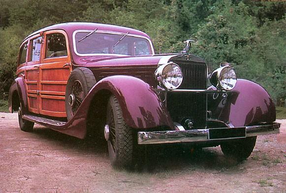 Magnifik Hispano Suiza K6 från 1935 från Franay