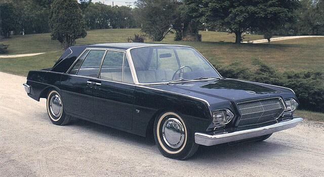 En extraordinär sedan från Studebaker signerad Brooks Stevens år 1963.