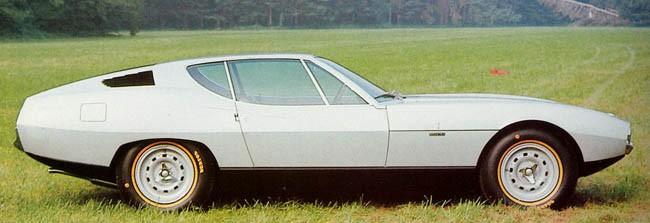 Piranha var en E-type på Bertones vis, men hade inte så mycket med Jaguar att göra då detta projekt initierades av tidningen Daily Telegraph 1967.  Den begåvade Marcello Gandini som då arbetade Hos Bertone höll i pennan, och samma penna användes uppenbarligen när man gjorde Espada åt Lamborghini strax efteråt.