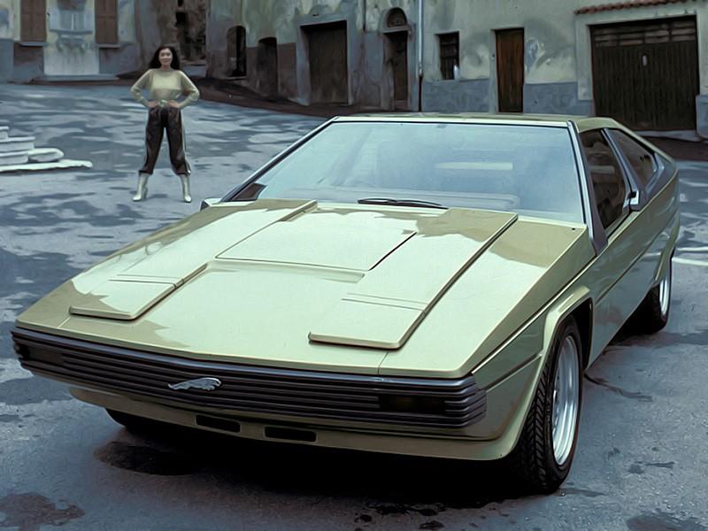 1977 var det dags igen att låta Bertone gå lös på en Jaguar, Ascot hette denna, och kanske iten så underligt att...