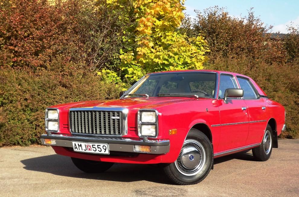 Mazda 929 skulle vara en prestigebil, man lyckades kanske inte fullt ut med att sno kunder från Mercedes och BMW...