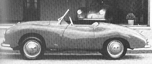Gutbrod blev en kortlivad bil i efterkrigstidens Tyskland mellan 1949 och 1954. runt 1950 byggdes ett par prototyper till en sportigare Gute, detta karossförslag snickrades till av Wendler.