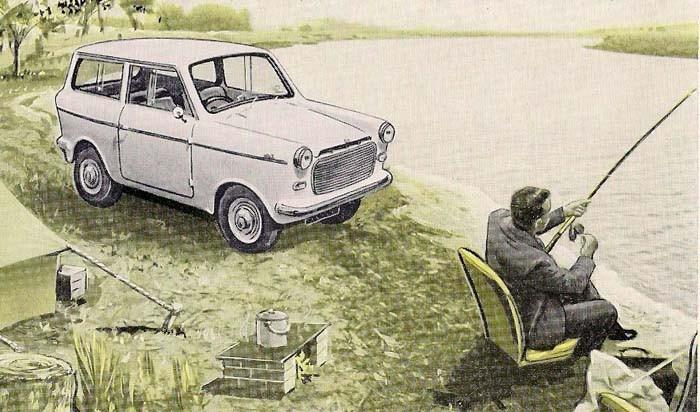 Man får inte satsa på stora fiskar om man är ute med sin Lightburn Zeta. En australisk minibil som byggdes av kylskåpstillverkaren Lightburn 1963-65