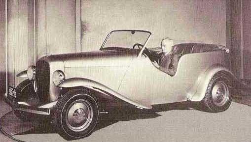 Ett tufft bygge daterat 1932, en del hot rod, en del engelsk sports tourer och en del buggy. Designern Frank Spring gjorde den här latttjo bilen hos Terraplane som en stilstudie, en tidig Show car eller conceptbil om man så vill kalla det.