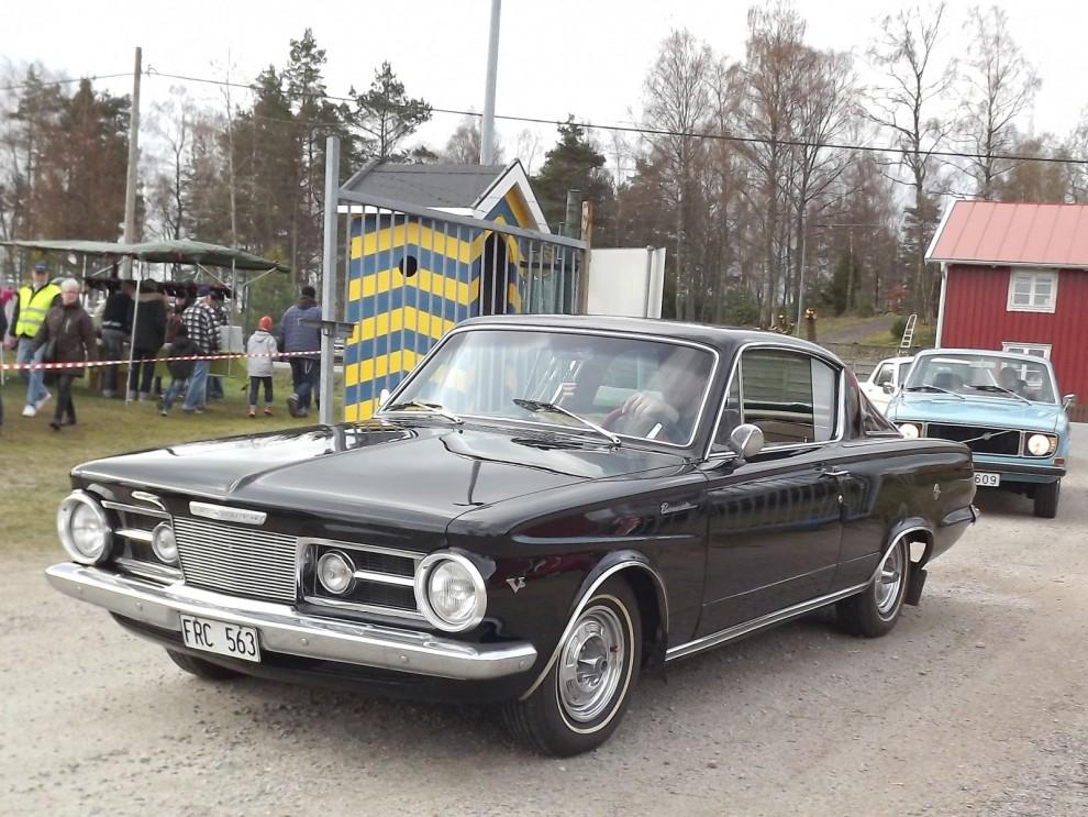 Pigg femtioåring 2, Snygga Plymouth Barrcuda debuterade precis före Mustangen men blev inte lika legendarisk