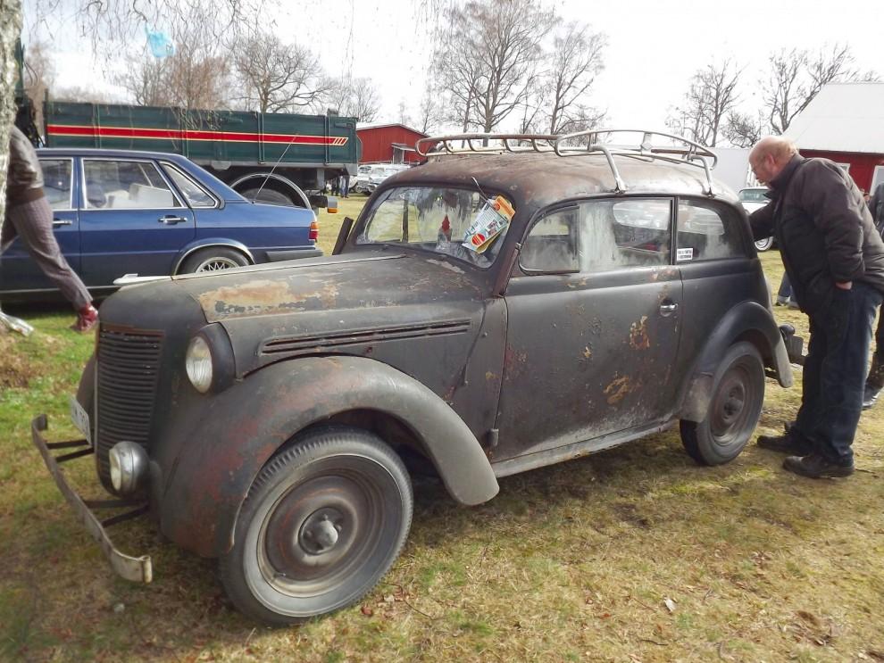 Renault Juvaquatre i fyndskick