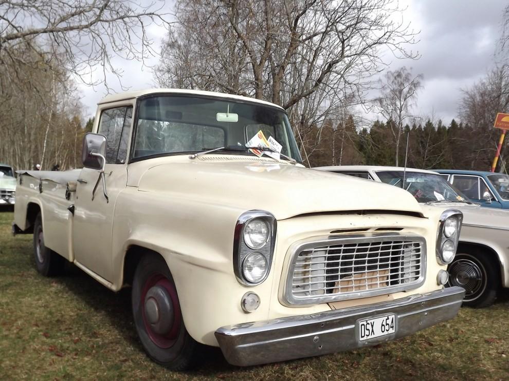 USA-pickuper är mycket populära. Utbudet består i stort sett av Ford respektie Chevrolet. Vill man dock sticka ut från mängden är International Harvester grejen.