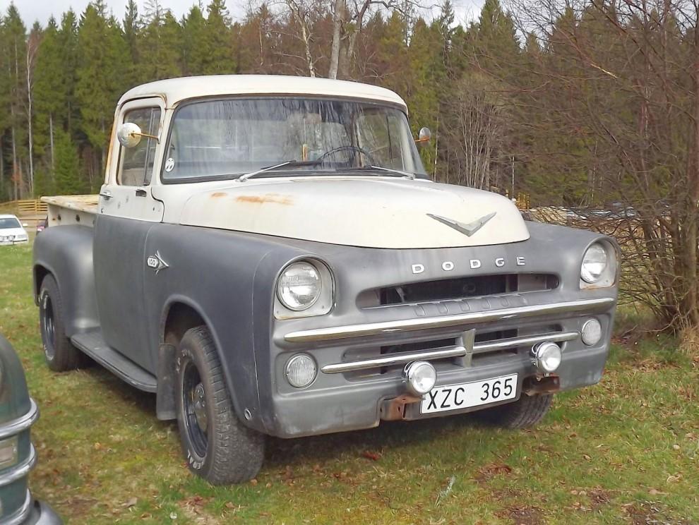 Eller kanske en Dodge D-100 från 1957