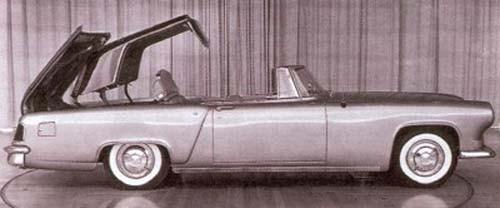 Lincoln Continental mk II kom att bli den dyraste och mest exklusiva bilen på USA-marknaden under dess korta produktion 1956-57. Den här studien daterar sig dock från 1954, och det fanns alltså planer på att göra en nedfällbar hardtop för mk II.  Det blev dock aldrig aktuellt men systemet kom däremot på Ford Skyliner 1957-59. Notera även att på denna tidiga mk II studie har den fortfarande markerade bakskärmar.