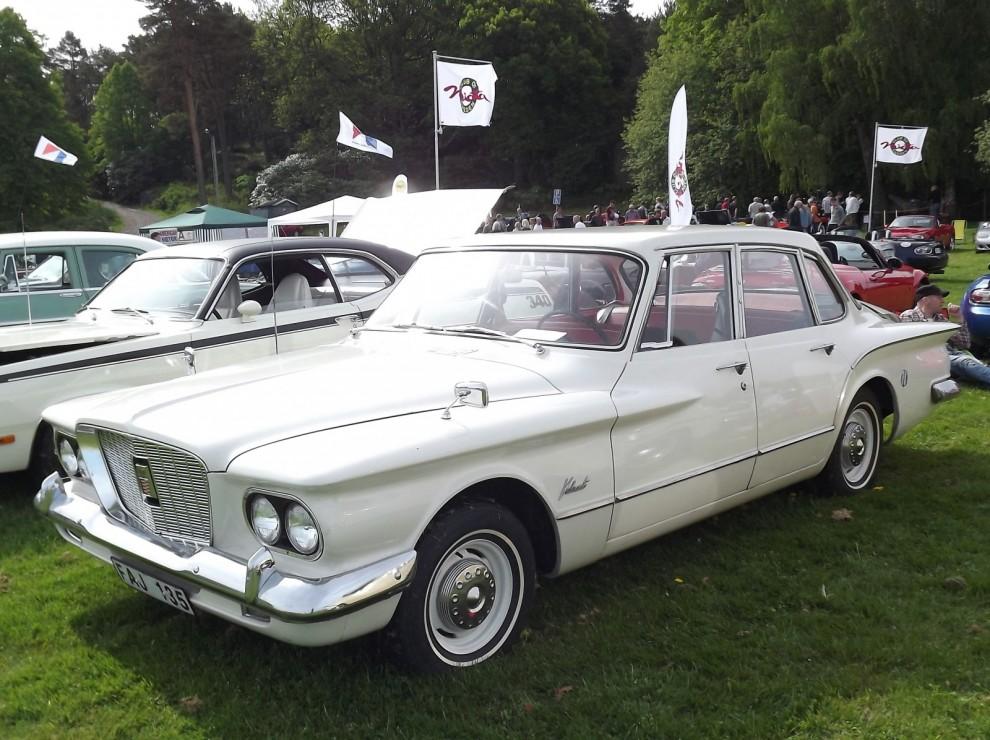 Likaså är Plymouth också borta, Valiant var en storsäljare i Sverige men få av dessa tidiga finns kvar.