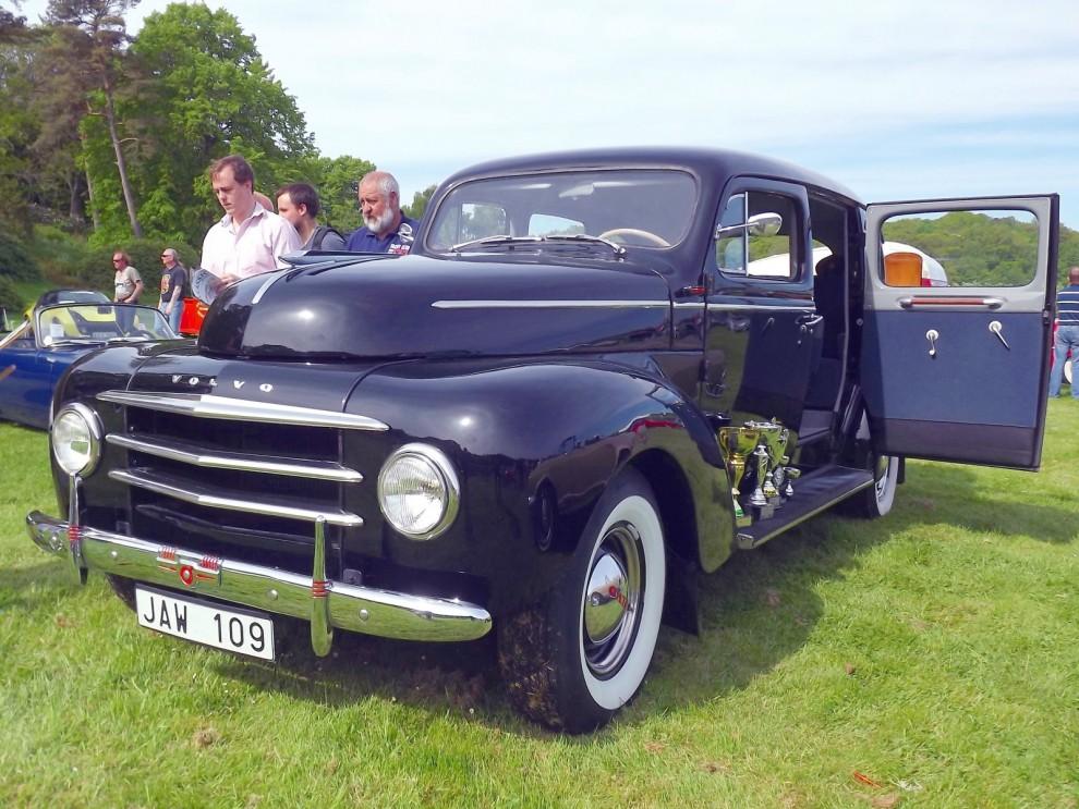 """En """"droska"""" PV831 från 1954"""