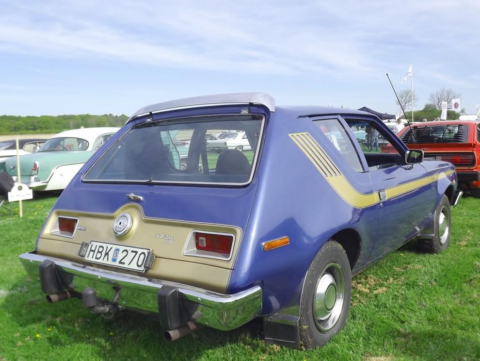 Och Gremlin, med Levis edition, svensksåld bil med V8 och Jeansinredning.