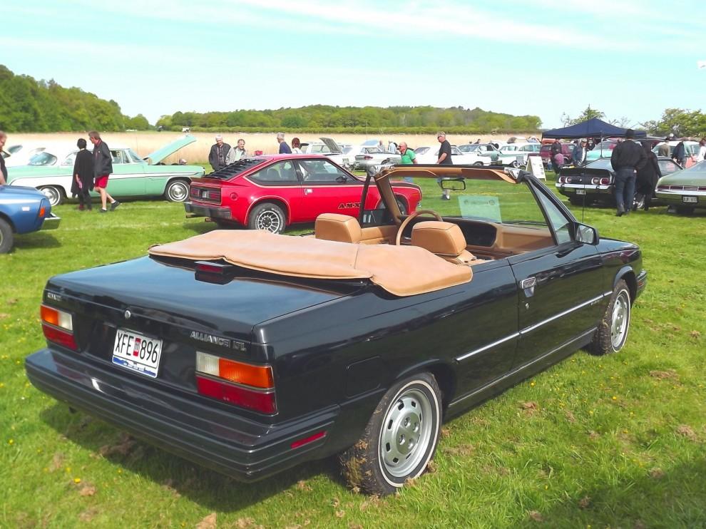 Alliance är en sällsynt udda modell, en Renault 9 som byggdes av AMC i USA och fanns även som cabriolet den sista tiden 1985-87.