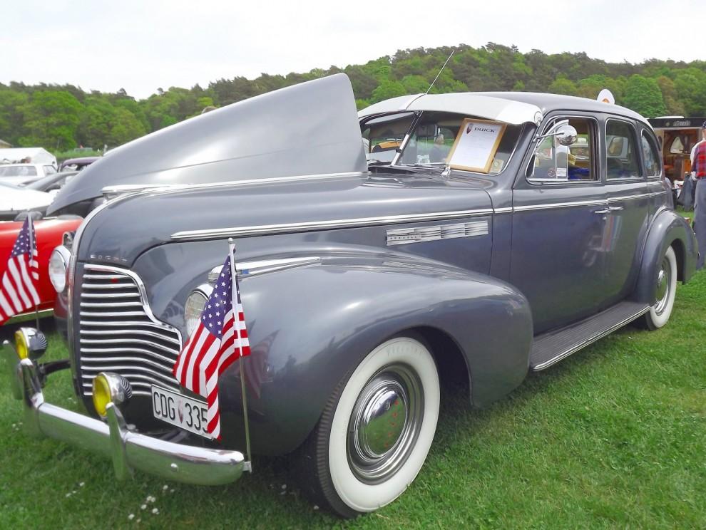 Special hette billiagste och minsta Buicken, det kan man knappt tro när man ser denna fina Special touring sedan från 1940
