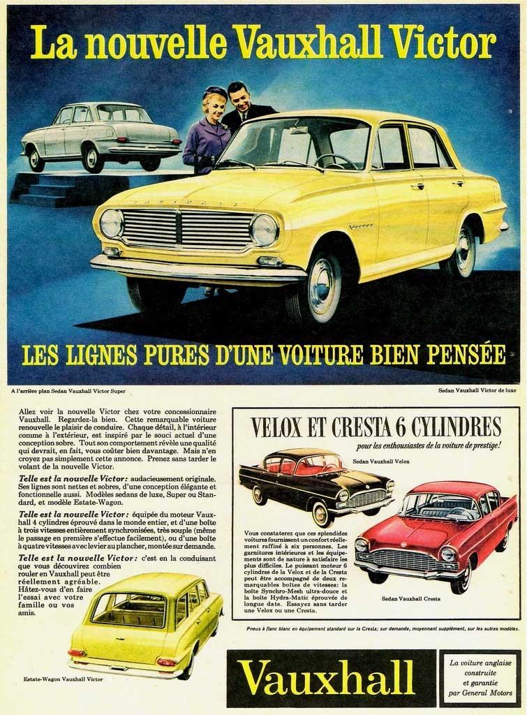 Men för att röra till det såldes en del Vauxhalls även som Vauxhall också.