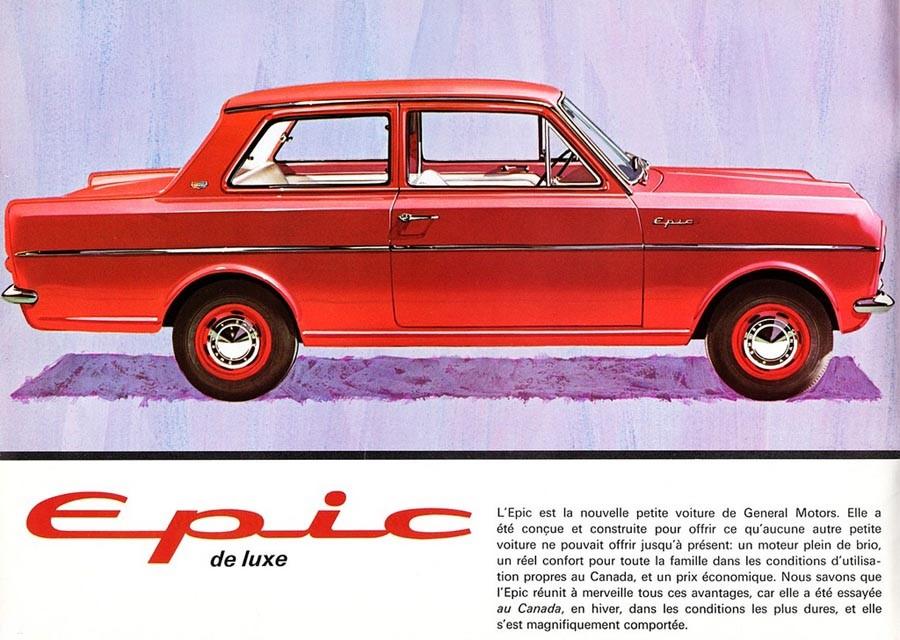 Vauxhall Viva bytte namn vid överfarten över Atlanten och hette vid ankomsten Envoy Epic. Såldes i Kanada av Pontiac.