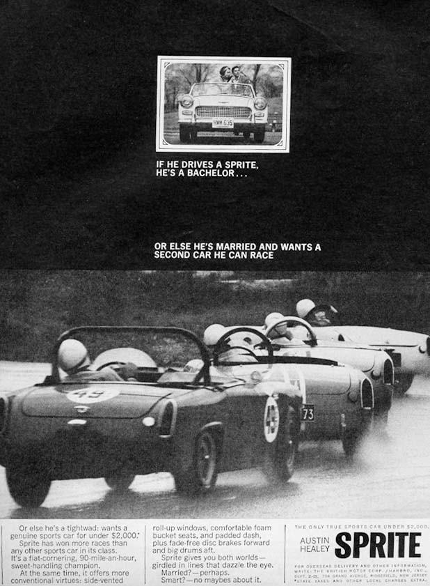 Austin-Healey Sprite 1965.