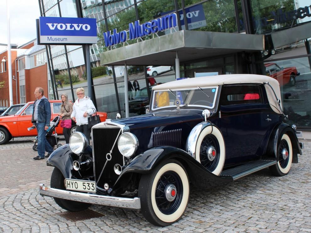 Och äldst, Tomas Söderbergs vackra och speciella PV655 med kaross från Norrmalms, 1933