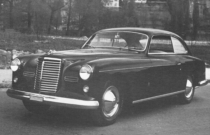 Armstrong Siddeley coupén från 1952