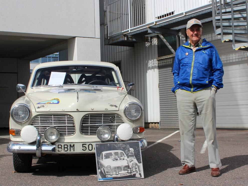 I tävlingshörnan hittar vi legendaren som kört både SAAB och Volvo i rallyskogarna, Carl-Magnus Skogh.