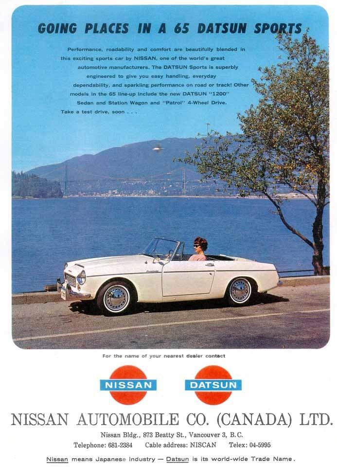 Datsun Fairlady, en sportbil som visade att japanerna viss kunde dom också. Ganska framgångsrik i USA.