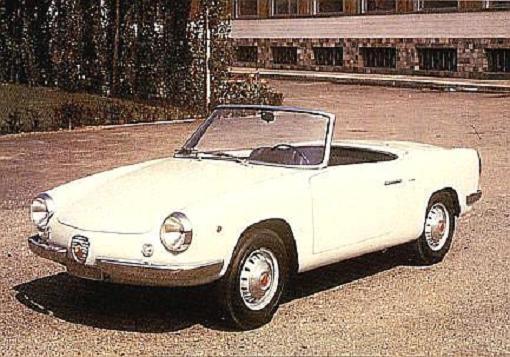 Riviera är ett populärt namn, mest förknippat med Buick men användes även på denna Abarth 850 spider från Allemano.