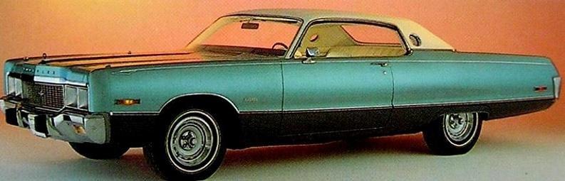1973 fanns det en Chrysler Newport Mariner.