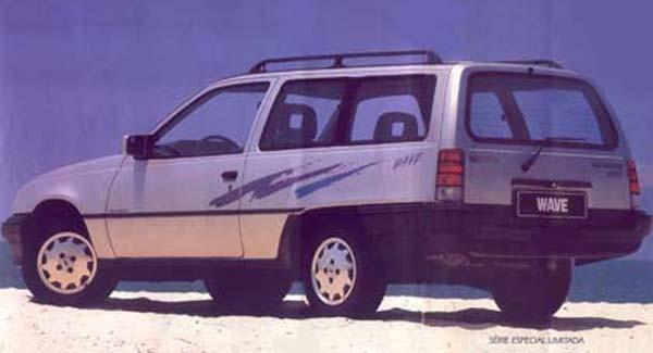 Från Brasilien, Chevrolet Ipanema 1992.