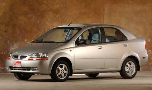 Och lite modernare, Pontiac Wave 2005.