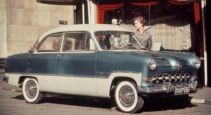 Tidigare Taunus, 15M, 1955.