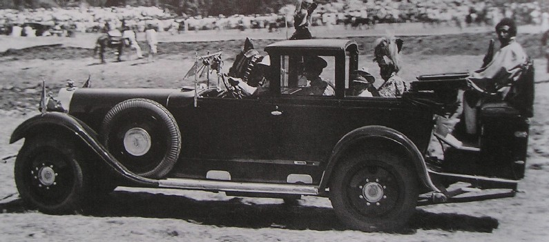 Spohn byggde denna Maybach W5 paradvagn åt Etiopiens kejsare Haile Selassie 1929